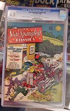 Star Spangled Comics #25 Simon and Kirby!  Robot Man begins.  CGC 6.5