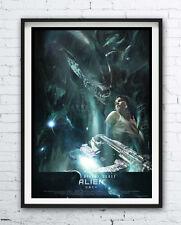 Alien - movie polish poster - print - Ridley Scott / Sigourney Weaver - Ripley