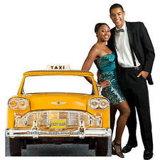 Taxi Cab Personalized Standee New York City Cab Cardboard Cutout