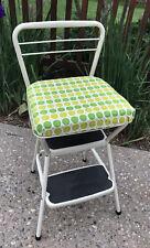 Vintage Kitchen Step Stool Chair Ebay