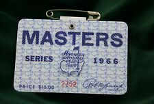 Masters Badges, Masters Golf Tournament - Vintage Badge-1966