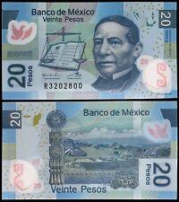 Mexico 20 Pesos, 2011, P-122f, UNC, Polymer, Series-Q