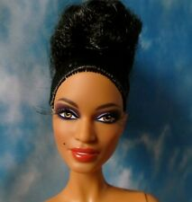 NUDE BARBIE TRIBAL BEAUTY NUDE WITH STAND & COA DIRECT EXCLUSIVE GOLD LABEL