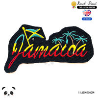 Jamaica Rasta Flag Embroidered Iron On Sew On PatchBadge For Clothes etc