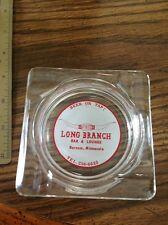ashtray barnum minnesota longhorn horns long branch mn minn advertising glass