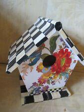 MACKENZIE CHILD'S FLOWER MARKET BIRDHOUSE,HAND MADE BY ME