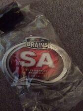 Brains S A Pump Clip Badge