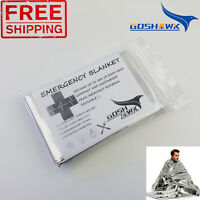 Emergency Space Blankets Camping Survival Rescue First Aid Waterproof