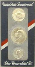 1976 40% Silver Bicentennial  3 Coin Mint Set