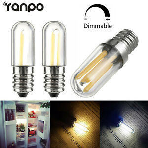 Dimmable E14 LED Refrigerator Freezer Filament Light Bulb Oven Lamp 1W - 3W 220V