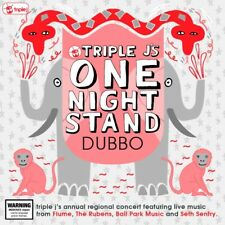 Various - Triple J's One Night Stand DUBBO CD/DVD NEW/SEALED Flume Rubens Sentry