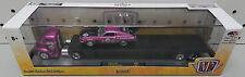 FORD TRUCK HAULER 1956 COE 1970 MUSTANG PINK DRAG RACE TRAILER 16-18 M2