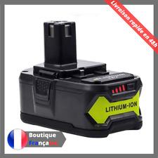 Batterie pour Ryobi One Plus + 5,0AH 18V RB18L25 RB18L50 P108 P107 P104 P780 FR