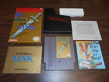 The Adventure Of Link Legend of Zelda II 2 NES Game Complete CIB Nintendo