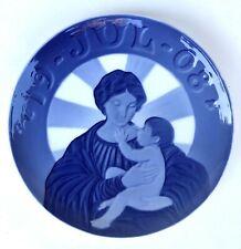 New ListingFactory First Quality 1908 Royal Copenhagen Christmas Plate   Baby Jesus Denmark