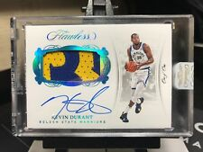 0c9e830f3 1of1 2017-18 Flawless KEVIN DURANT Patch Autograph True 1 1 Warriors AUTO