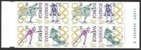 Sweden 1992 Sport Olympic Champions Scott #1940a Booklet VF-NH