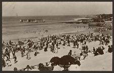 South Africa. Port Elizabeth. A Holiday Crowd at Humewood Beach. Old R.Photo