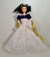 """12"""" Snow White Christmas Winter Holiday Collection Princess Doll Figure Disney"""