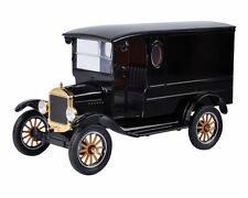 1:24 Ford 1925 Model T Paddy Wagon (Black) - Motor Max Platinum Series
