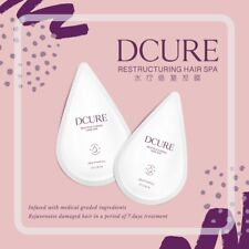 DCURE RECONSTRUCTING HAIR SPA-REVIVE HAIR IN 3 MINUTES. BEST CHRISTMAS PRESENT