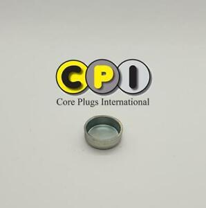 18mm Cup Freeze core plug - CR4 Zinc Plating - British Steel BS1449