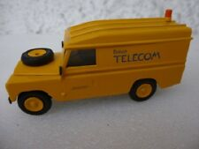 RX 201 Landrover LWB British Telecom yellow hand built Roxley 1/48