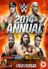 WWE Annual 2014 Best Of Raw And Smackdown & PPV Matches 2013 6x DVD DEUTSCH