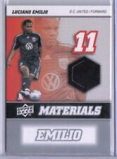 Luciano Emilio 2008 Upper Deck UD MLS Materials Game Used Jersey MM-19 DC United