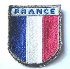 WW2 FRENCH FORCES TRAINING IN THE US SHOULDER PATCH -1941 to 1945- NEW/OLD STOCK
