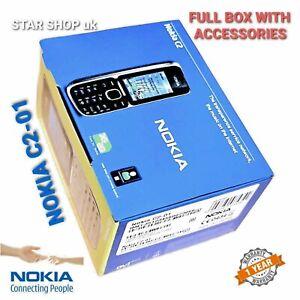 Brand New Nokia C2-01 - Black (Unlocked) Mobile Phone WARRANTY Free return
