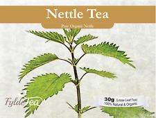 *Organic Nettle Herbal Tea* 30g Loose Leaf. FyldeTea