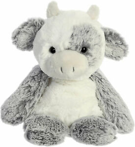 "Sweet & Softer 9"" Aurora Plush Cow"