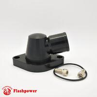 Billet Aluminum Swivel Water Neck Ford FE 360 390 427 428 1.5'' Black