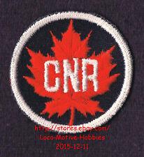 LMH PATCH Badge CANADIAN NATIONAL Railway CN CNR Railroad Canada Maple Leaf Logo