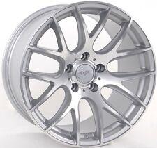 19x9.5 Miro 111 5x112mm +40 Machine Silver Wheels Fits Audi b5 b6 b7 b8 c4 c6 Q5