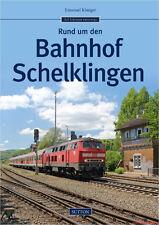 Specialist book around the station schelklingen, history of the railway station