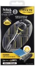 [Schick] Hydro 5 Custom Refresh Razor,Sense Energize - 1 Razor + 9 Refill Blade