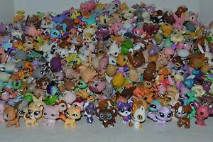 Littlest Pet Shop~Lot~10 RANDOM Surprise LPS Pets~No Duplicates~4 Accessories