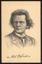 cartolina d'epoca ANTON RUBINSTEIN