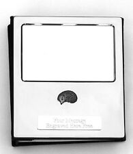More details for hedgehog s design silver personalised photo album free engraving 100 photos 176