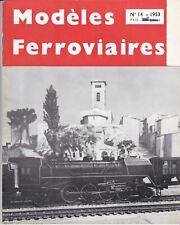 revue modéles ferroviaires n°14    1953
