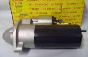 Bosch BX110106 Starter Motor FITS Audi 80, 91-96 A4, 94-96 A6, 94-97 - 1.9 TDi