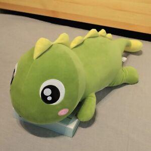 Big Long Lovely Dinosaur Plush Toy Soft Cartoon Animal Stuffed Doll Pillow Gift