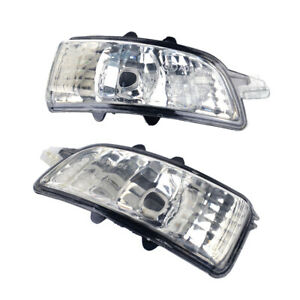 Fit for Volvo S40 V50 C30 S60 Side Door Mirror Turn Signal Indicator Left/Right