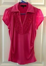 HeartSoul Womens Pink Blouse In New Condition ~ Size Large ~ Beautiful ~ EUC