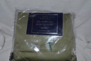 Luxury Sateen 900TC Green color Full sheet set NIP