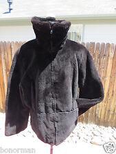 Revillon Paris New York $7000+ Black Genuine Sheared Mink Fur Jacket Sz 6