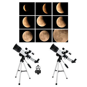 F30070 Astronomical Reflector Telescope Set With Tripod for Adult Children