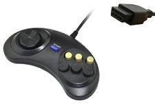 Sega Mega Drive I II Genesis 6 botón lucha Controlador Gamepad Joystick